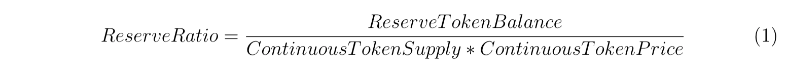 token bonding curve